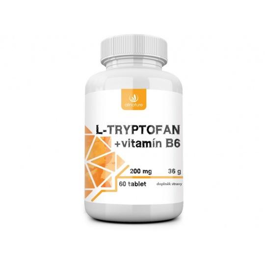 L-tryptofan + vitamín B6 36g