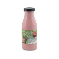 Kozí jogurtový nápoj Malina 0,25l + vratná láhev
