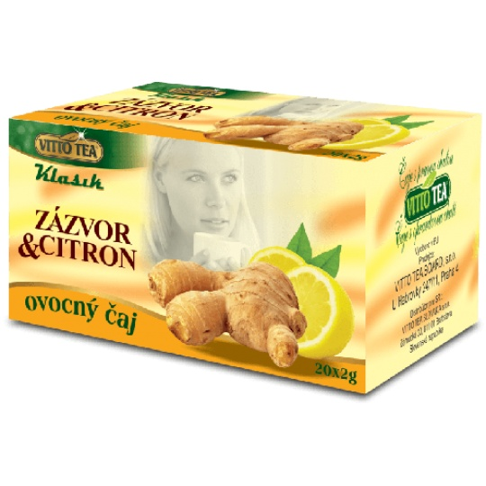 Zázvor+citron - klasik 40 g