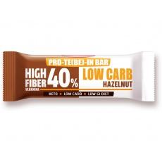 Low Carb   High Fiber Slimka tyčinka - lískový ořech 35g min.trv.1.7.2021