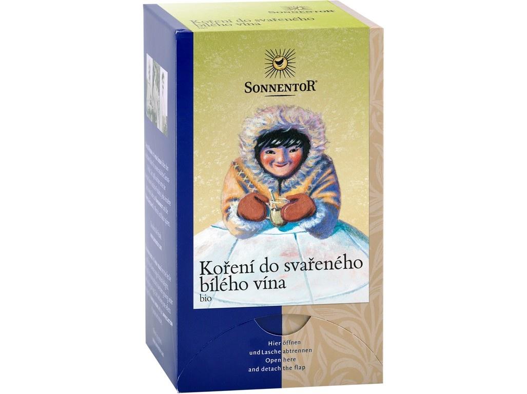 Bio Koření do svařeného bílého vína 36 g dvoukomorový