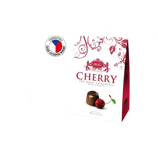 Cherry Višně v hořké čokoládě stříška 120g