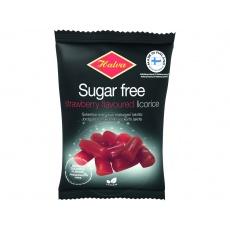 Lékořicové bonbóny jahodová příchuť bez cukru 90g