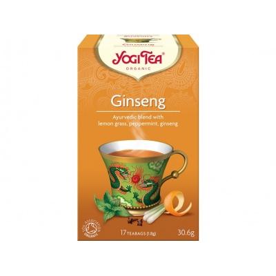 Bio Ženšen Yogi Tea 17 x 1,8 g