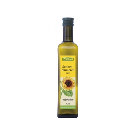 Bio Slunečnicový olej  lisovaný za studena 500ml