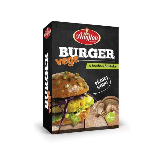 Vege Burger s houbami Shiitake Amylon 125g