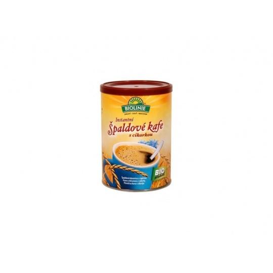 Bio Instantní špaldové kafe s cikorkou BIOLINIE 100g