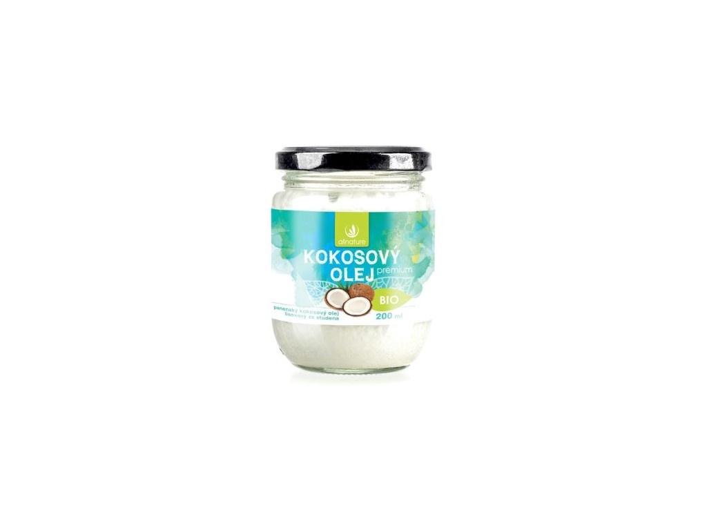 Bio panenský Kokosový olej 200ml