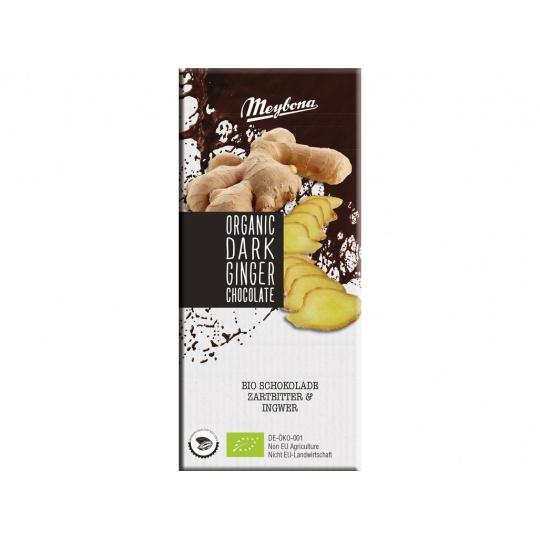 Bio Čokoláda hořká se zázvorem 52% 100g