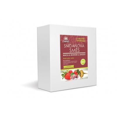 Bio snídaňová směs maca-moruše-jahoda family 3,2kg