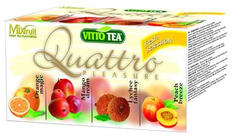 MIX QUATTRO FRESH čaj porcovaný 40 g