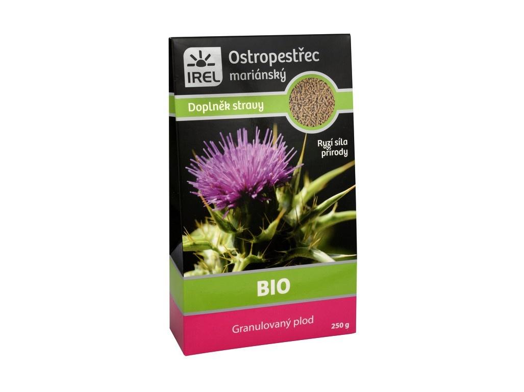 Bio Granulovaný plod z ostropestřce mariánského - krabička 250g