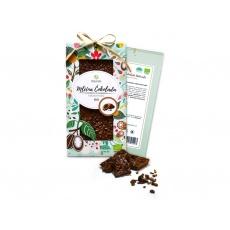 Bio čokoláda s kakaovými boby - mléčná 80g