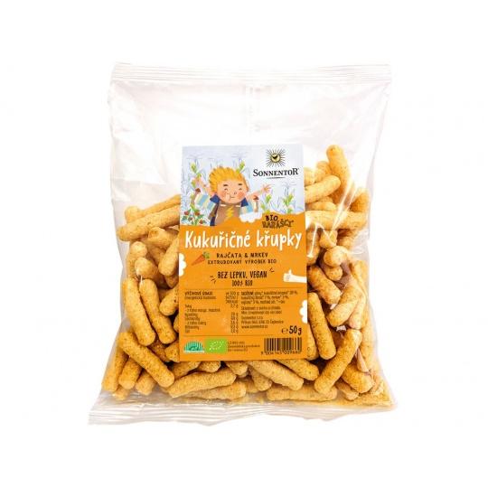 Bio Kukuřičné křupky Biorarášci 50g