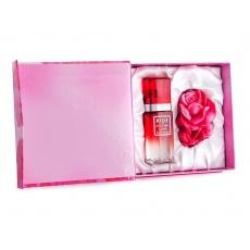 Dárkový set - růžový parfém, mýdlo 65g