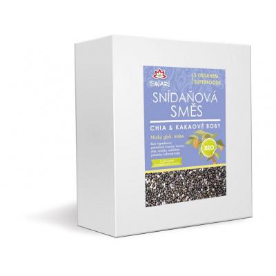 Bio snídaňová směs chia - kakaové boby 3,2kg