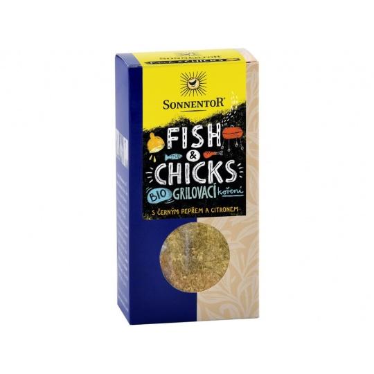 Bio Fish & Chicks - grilovací koření na ryby a kuře 55g
