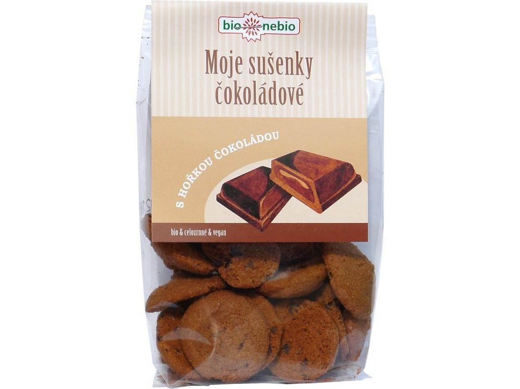 Bio Moje sušenky čokoládové 130g