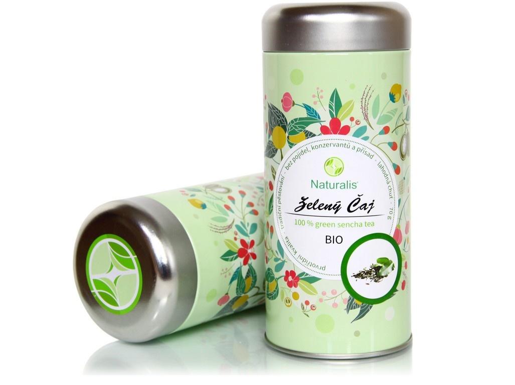 Bio čaj zelený 70g