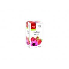 Čaj Malina a jahoda s echinaceou 20x2g