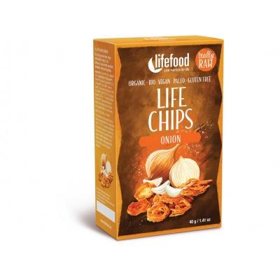 Bio Life Chips cibulové 40g