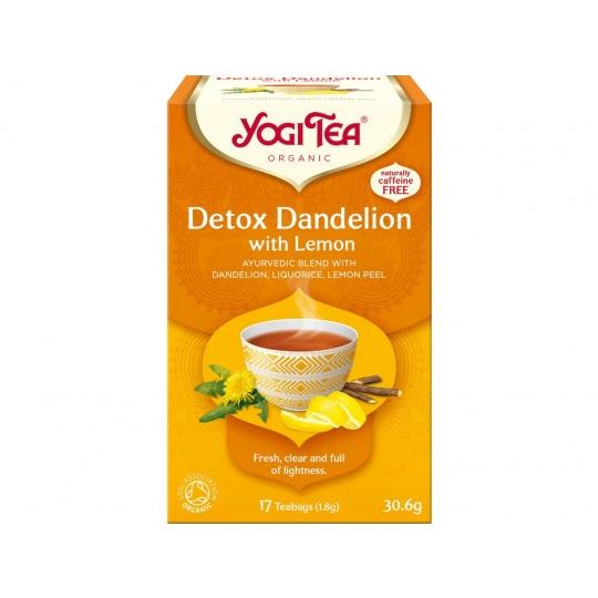 Bio Detox s citrónem Yogi Tea 17 x 1,8 g