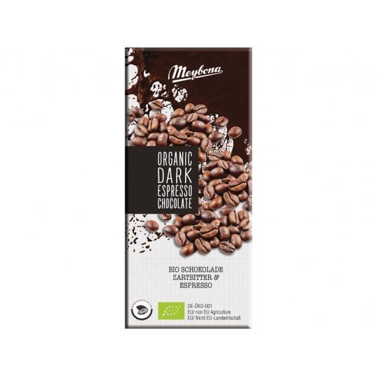 Bio Čokoláda hořká s kávovými zrny 52% 100g