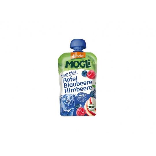Bio Ovocné pyré Moothie jablko borůvka malina bez cukru 100g