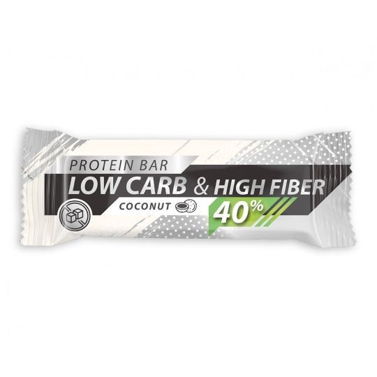 Low Carb | High Protein 40% Živan - Coconut 35g