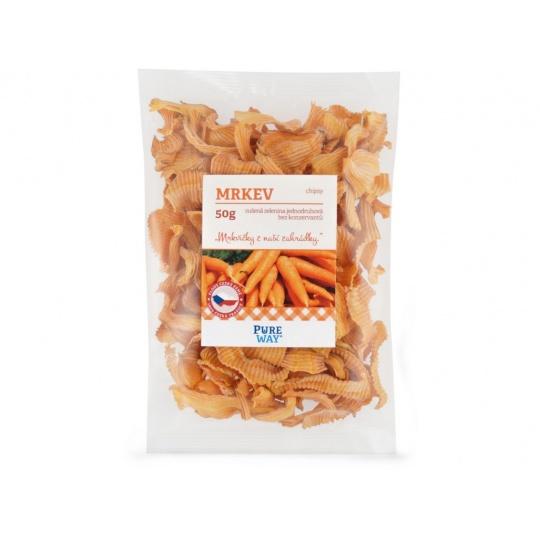 Mrkev - chipsy 50g