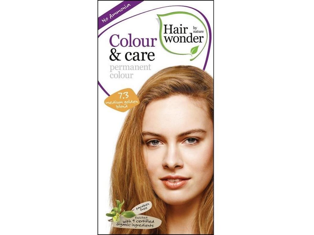Prirodni dlouhotrvajici barva Stredne zlata blond 7,3