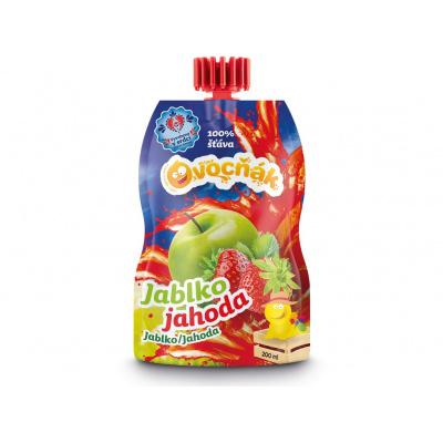 Ovocňák mošt jablko jahoda 200ml