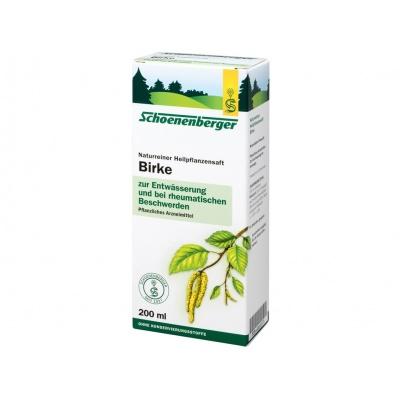 Bio čerstvá rostlinná šťáva Schoenenberger - Bříza 200ml